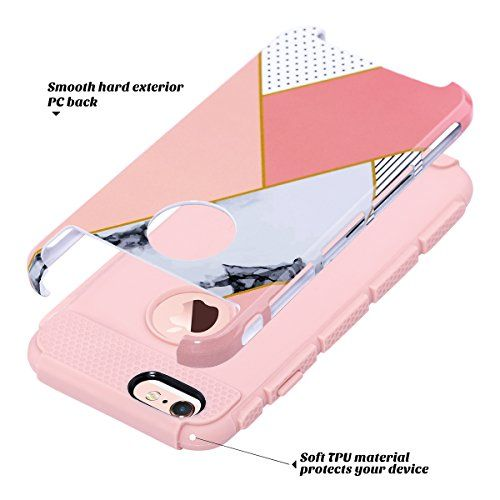 ULAK Cover iPhone 6S Plus Custodia iPhone 6 Plus PC TPU Cover