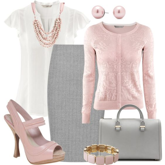 A fashion look from April 2013 featuring H&M blouses, H&M cardigans and Reiss skirts. Browse and shop related looks.