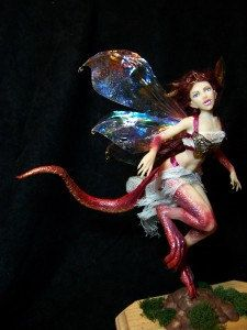 custom ooak pure sculpted Dragon fairy or by redwyvernstudio .... Kate Sjoberg