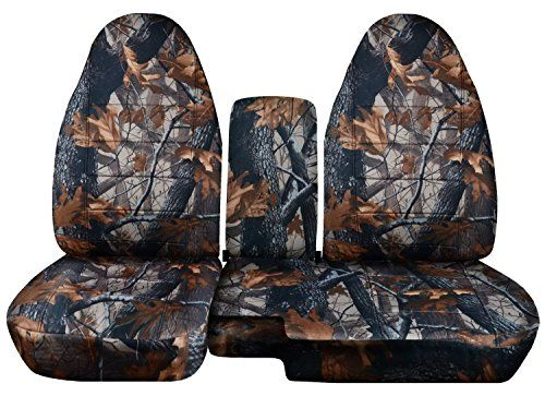 Totally Covers Compatible With 2004 2012 Ford Ranger Mazda B Series Camo Truck Seat Covers 60 40 Split Bench W Center Console Armrest Gray Tree Camouflage 1 In 2020 Camo Truck Truck Seat Covers Ford Ranger
