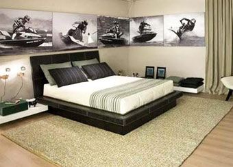 man bedroom decor ideas five very masculine male room decor ideas home decor pinterest room decor bedrooms and room - Bedroom Design Ideas Male
