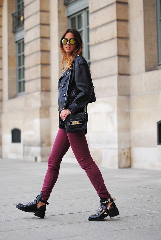 Balenciaga envy! Zina in Paris. #ZinaCharkoplia #Fashionvibe