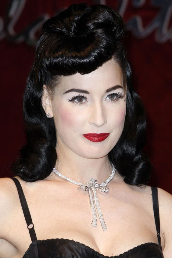 Retro glamour and vintage style: these A-list lovelies are famous for their lust-worthy locks, but we think they've been playing copycat...