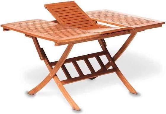 Klappgartentisch Holz Ausziehbar Ausziehtisch Gartentisch Tisch