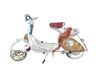 Lynsey Hunter - scooter