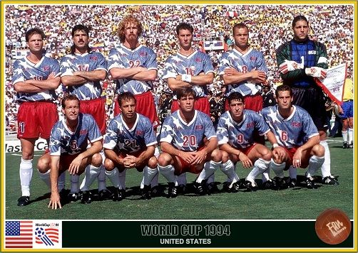 Fan Pictures 1994 Fifa World Cup United States United States Team World Cup World Cup Teams Fifa World Cup