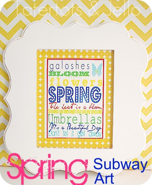 cute easter printable from  Tater Tots and Jello