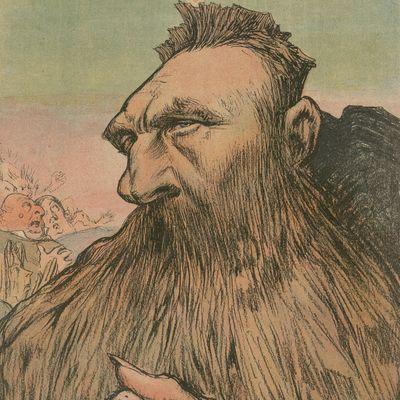 """""""Auguste Rodin, sculpteur auguste"""", Charles Léandre"""
