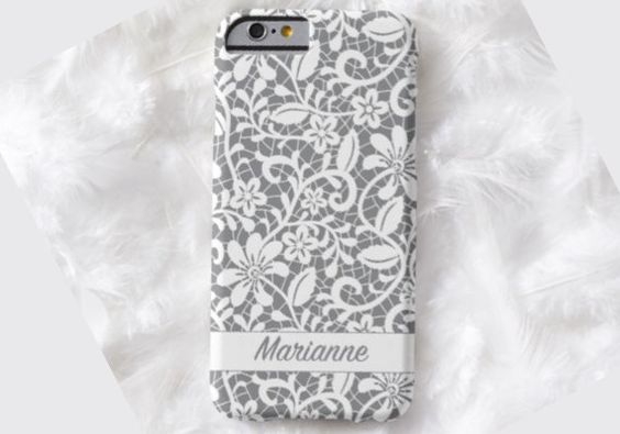 GREY Floral Design Cell Phone Case, iPhone 6 case, Note 4 cell case, cell phone case, iPhone 6 plus phone case, iPhone 6 plus case, S6 #323 by DesignsbyLiv15 on Etsy