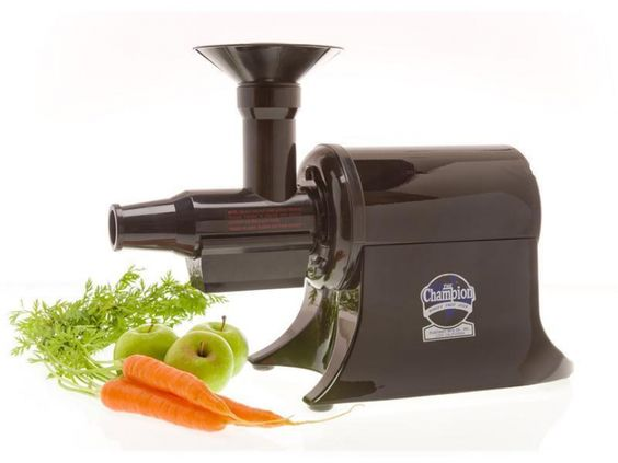 Champion Commercial Fruit Vegetable Juicer Greens Nuts Ice Cream ...