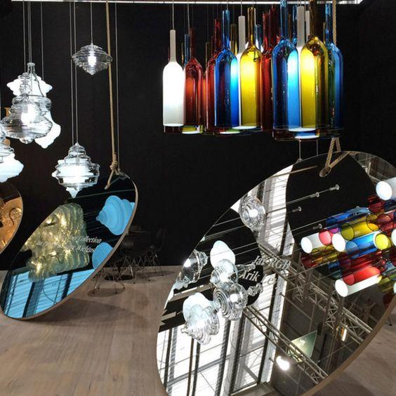 Exploring the integration of history in contemporary design in glasswork at the Paris design fair