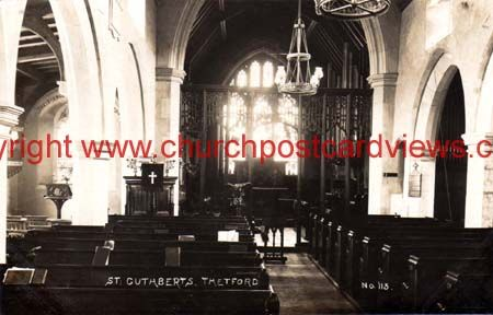 Thetford St Cuthberts interior NOR104