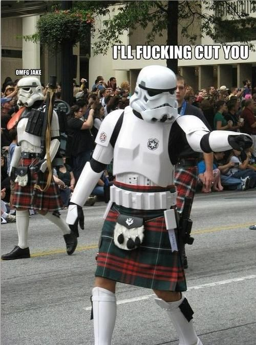 Scottish stormtroopers