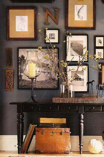 Wall Decor Woodsy Artistic Urban Autumn Home Colorful