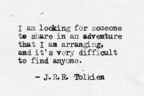 an adventure..