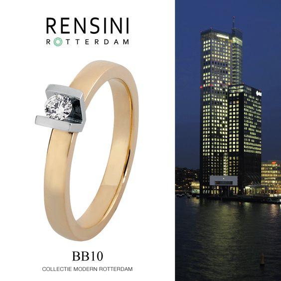 #ring #jewels #Rensini #Rotterdam Collectie Modern BB10