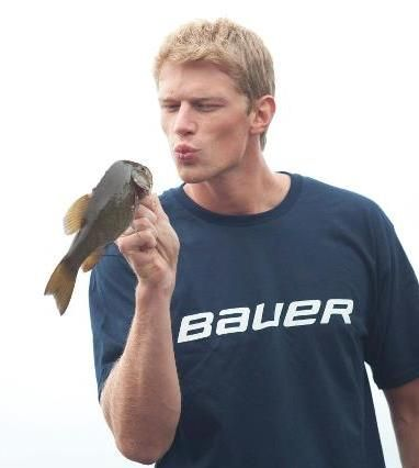 Staal engaging in some fish mockery
