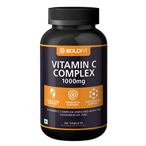 Boldfit Vitamin C Complex 1000mg Tablets With Amla Zinc For Immunity Support For Adults Antioxidant Suppl In 2020 Vitamins Vitamins For Vegetarians Organic Vitamins