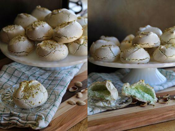 The Chic Country Girl: Recipe: Pistachio Nut Meringue Cookies | Saint Patricks Day Treat
