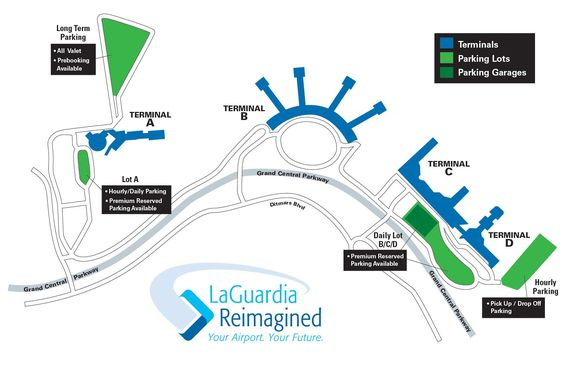 Printable Confirmation Lga International Airport Parking Lot International Airport Airport