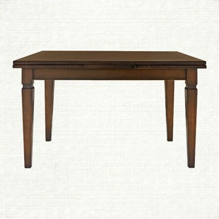 Luciano 54 Rectangle Dining Table In Burnished Brown