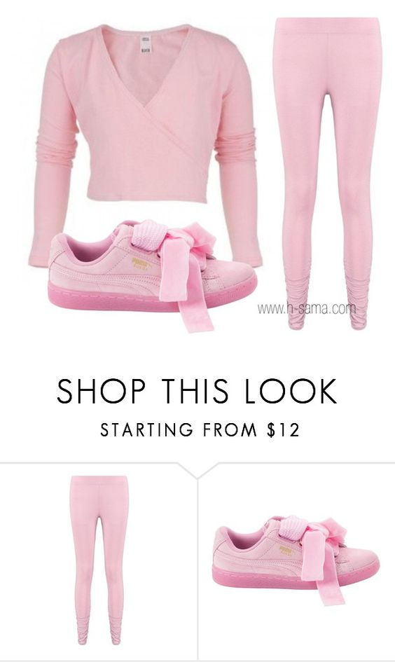"""Street Ballet"" by hsamablog on Polyvore featuring Bloch, Boohoo and Puma"