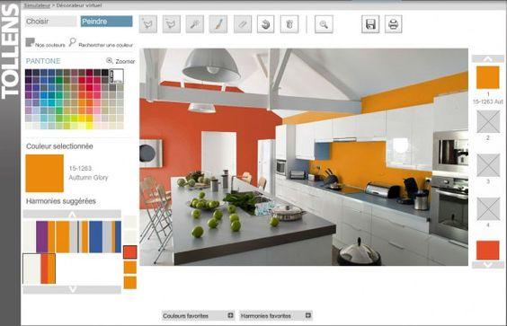 Le simulateur sur Tollens éditeur de couleurs, laissez parler vos envies !