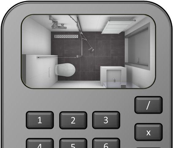 Wandlampen Voor Badkamer ~ Zo schat je de kosten voor een nieuwe kleine #badkamer!