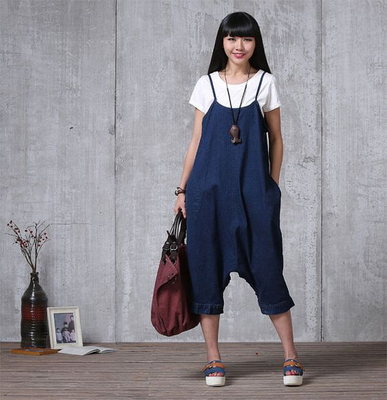 Casual Loose Fitting Comfortable and casual harem pants- Women Clothing (LYQ015)