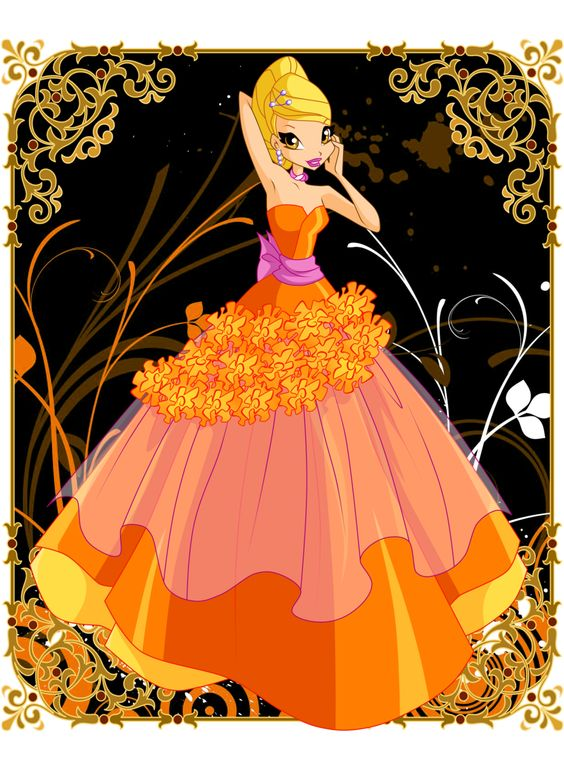 Flower Princess Stella by Bloom2.deviantart.com on @DeviantArt