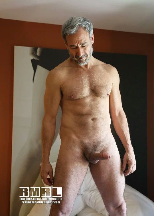 Nude mature men