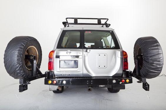 Wheel Carrier - Nissan Patrol GU (2004-2012) - Powerful 4x4 Pty Ltd Store