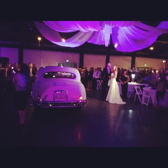 Wedding Reception At Old Car Heaven Birmingham Al Party Special Occasion Decor Pinterest Venues And