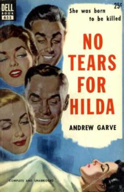 Dell Books - No Tears for Hilda - Andrew Garve