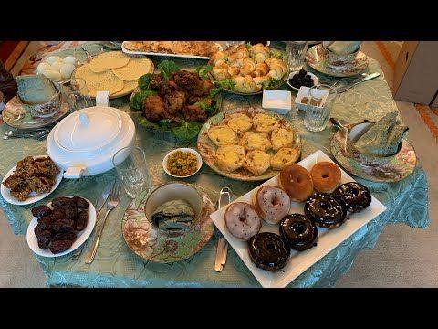مائدة رمضان مشكلة و بسيطة بتعاون مع قناة ذهب Youtube Table Settings