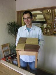 2009年9月6日 みんなの作品【椅子】|大阪の木工教室arbre(アルブル)