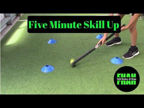 5 Minute Skill Up Field Hockey At Home Youtube In 2020 Hockey Training Field Hockey Drills Field Hockey