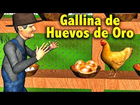 La Canción Del Cuento De La Gallina De Los Huevos De Oro Videos Educativos Para Niños Youtube Videos Educativos Canciones Canciones Preescolar