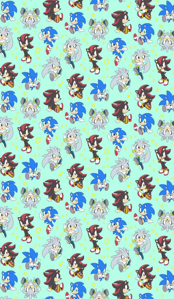 Sss Bg Sonic And Shadow Sonic Sonic The Hedgehog