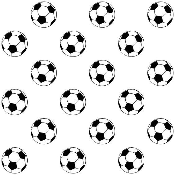 Free Printable Soccer Ball Pattern Party Printables Free Soccer Party Scrapbook Paper