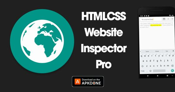 New Apk Html Css Website Inspector Pro Mod Apk 1 47 Paid For Free Updated Modded Apkdone In 2020 Html Css Learn Html And Css Css