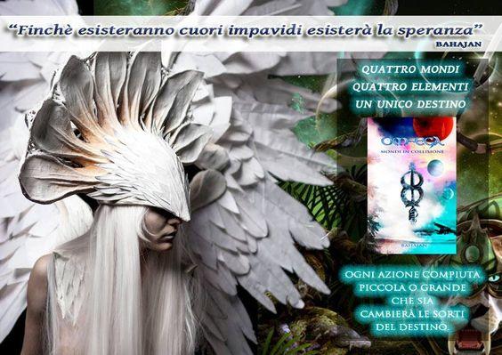 NOVITÀ!  Tra pochi giorni sarà finalmente disponibile OM-EGA, MONDI IN COLLISIONE di Bahajan. Il romanzo sarà acquistabile su Amazon sia nella versione cartacea che l'e-book. Nell'attesa, in esclusiva per te un estratto in omaggio http://www.bahajan.com/om-ega Un romanzo che ti farà cambiare il modo in cui vedi il mondo!
