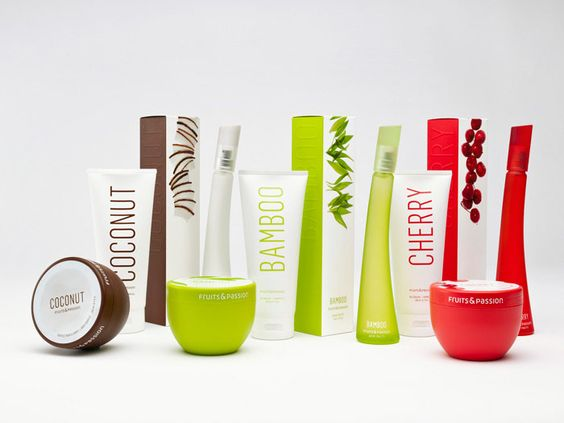Bamboo, Cherry and Coconut packaging design
