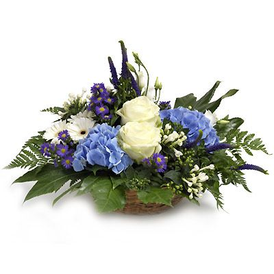 """Forget-me-not"" Arrangement 