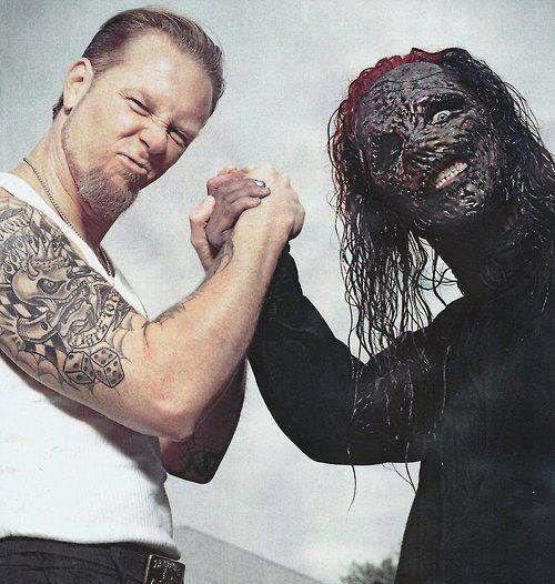 James hetfield and corey taylor corey taylor for Cory james tattoo