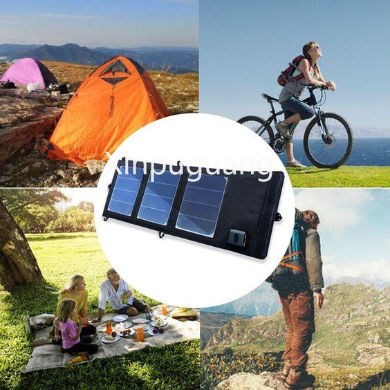 Mashiny Portablesolarcharger Na Otkrytom Vozduhe Foldablesolarpanel 9 Solar Panel Charger Powerbank Outdoor