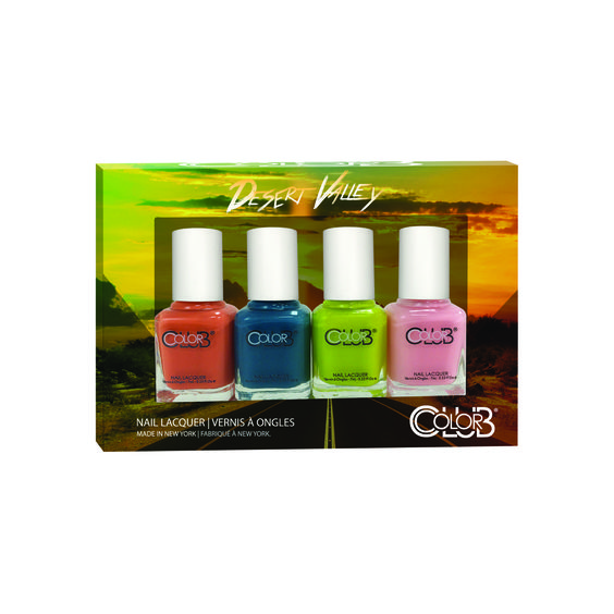 Color Club 4-pack minis in Desert Valley