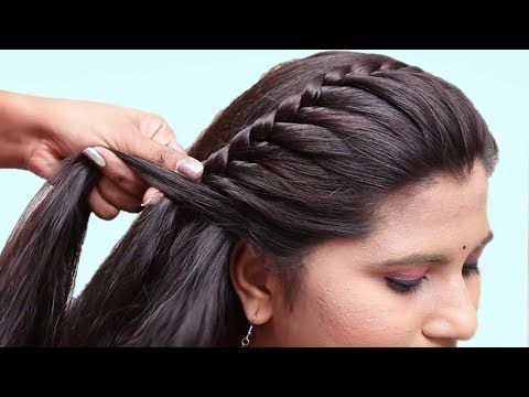 Easy Hairstyles For Wedding Party Hair Style Girl Hairstyles For Girls Cute Hairstyles 2019 Y Braided Hairstyles Easy Hair Styles Easy Hairstyle Video