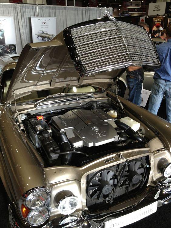 Mechatronic mercedes benz 280se engine bay 2 mercedes pinterest sciox Gallery