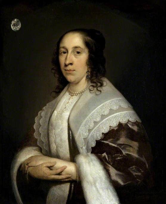 Portrait of a Woman by Cornelis Janssens van Ceulen Glasgow Museums Date painted: c.1644: